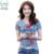 LIKEPINK 2017 Mujeres Del Verano Tops Labios Patrón de la Letra Harajuku Camiseta Femenina Camiseta Tee Shirt Femme Maqueta Poleras mujer Blanca