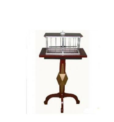 Floating Table With Appearing Bird Cage Table - Deluxe - Magic Trick,Stage Magic,Close Up magic,Floating Magic,Accessories,Toys risk staple gun trick stage magic close up illusions accessory gimmick mentalism