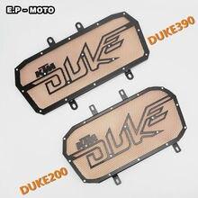 Для KTM DUKE200/DUKE390 Мотоцикла Нержавеющей Стали Решетка Радиатора Крышка Гриль Протектор