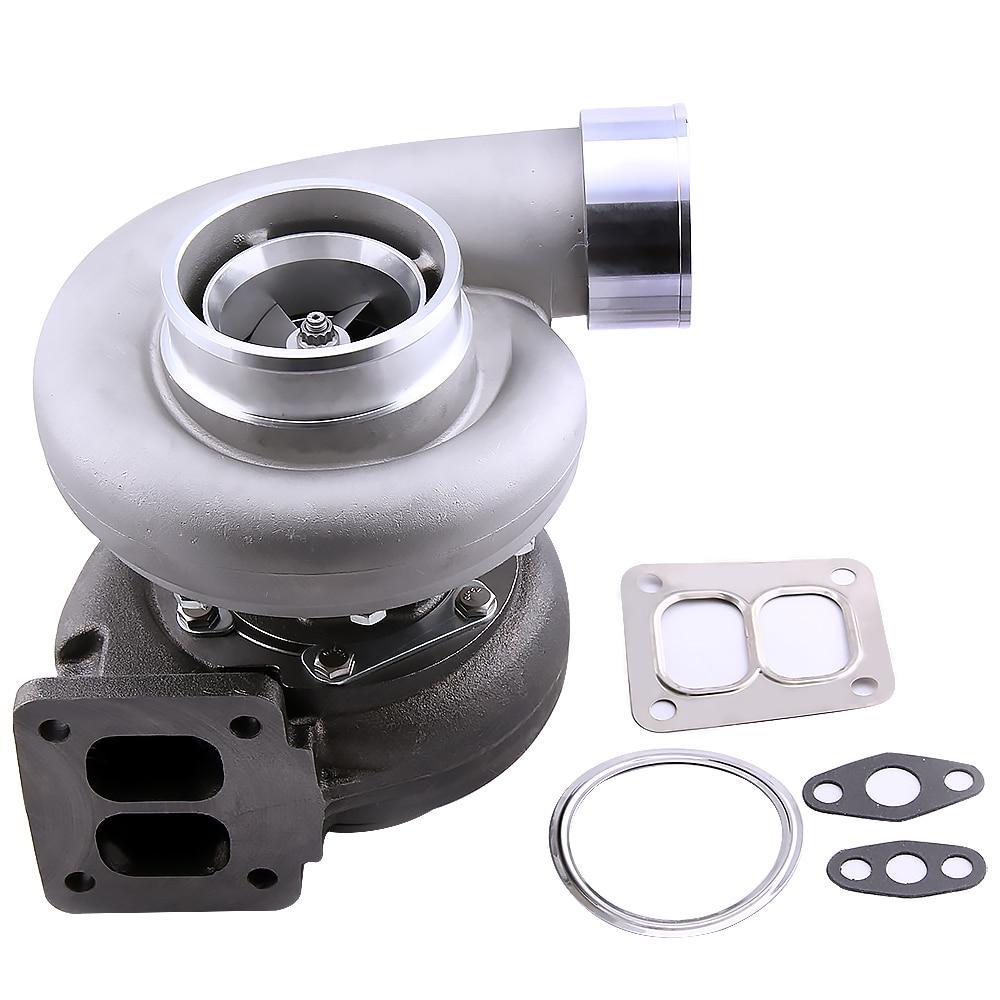 GT45 GT45R universel Turbo A/R. 66 A/R 1.05 T4 T66 v-band turbocompresseur 4 bride de boulon 600 + HP poubelle externe