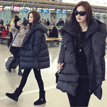 2019 hot new black navy blue down jackets casual style large