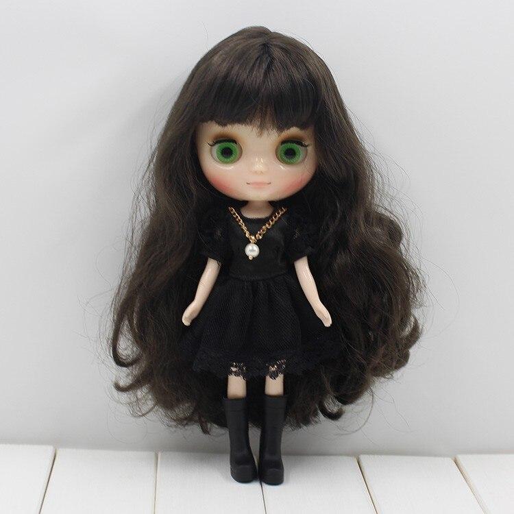 Middie Blythe Doll Grey Hair 20cm 4