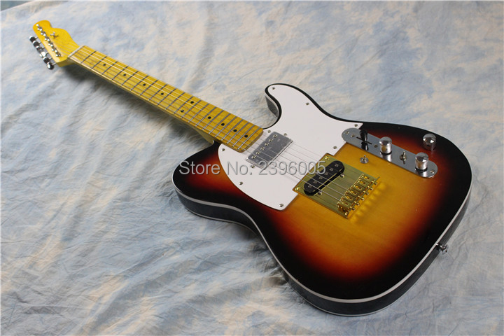 все цены на Custom exclusive Andy tele electric guitar, vintage sunburst tl guitar,boost switch ,MINI switch H to S pickups,free shipping