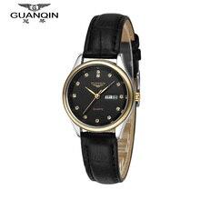 GUANQIN montre femme Sport mode marque de luxe montre femmes diamant Quartz montre robe étanche Hardlex pas cher dames montres