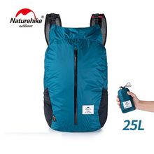 NatureHike Ringan Olahraga Tas Cordura Kain 30D Nilon Lari 25L Folding Pack Ransel Fashion City(China)