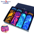 Fashion Sexy Men Underwear 4PC/lot U Concex Design Young Vitality  Underpants Breathable Sweat Print Boxer Shorts (no gift box)