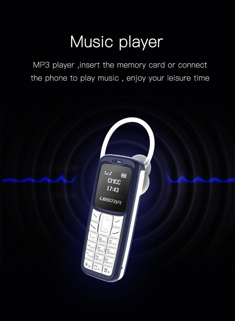 L8star Bm30 Mini Phone Sim Tf Card Unlocked Cellphone Gsm Wireless Bluetooth Dialer Headset Mobile With Mp3 Aliexpress