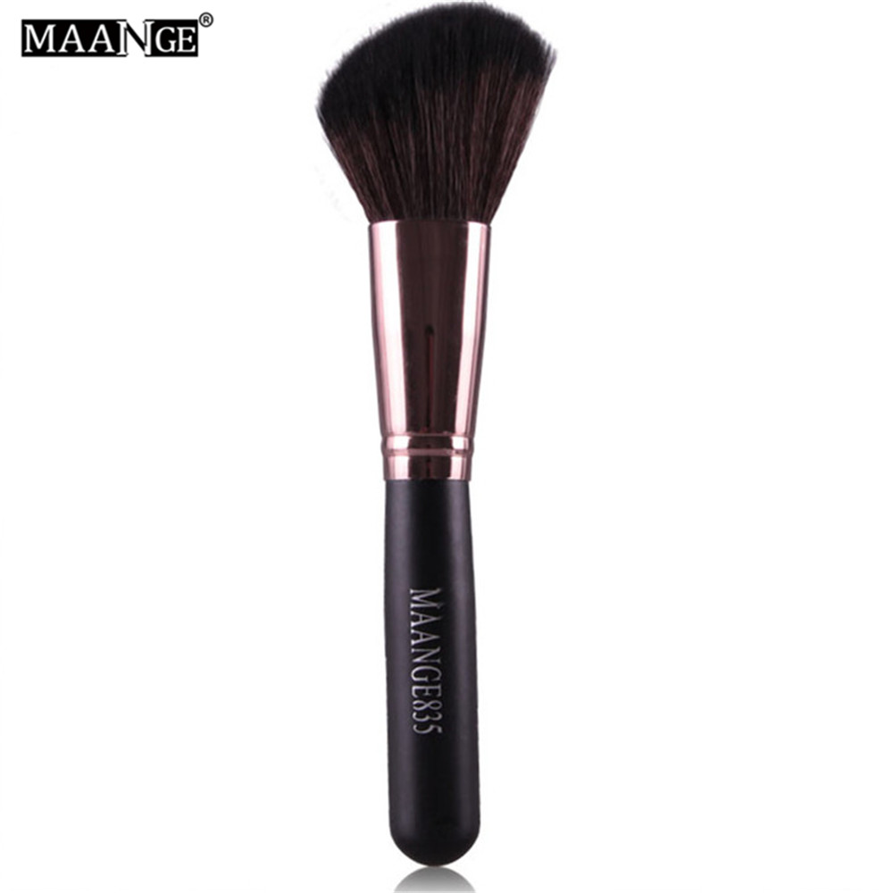 Oblique Head Nylon Makeup Brush Face Cheek Contour Cosmetic Powder Foundation Blush Brush Angled Make up Oblique Angle Tip Brush new design stamp seal shape face makeup brush foundation powder blush contour brush cosmetic facial brush cosmetic makeup tool
