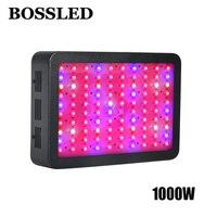 BOSS светодиодный светать 1000 Вт полный спектр для парниковых комнатных растений Вег цветок все стадии роста гидропонных систем