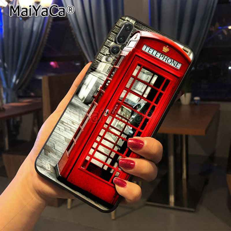 Maiyaca London big ben Bus New Luxury fashion cell phone case  for Huawei P20 P20 pro Mate10 P10 Plus Honor9 case
