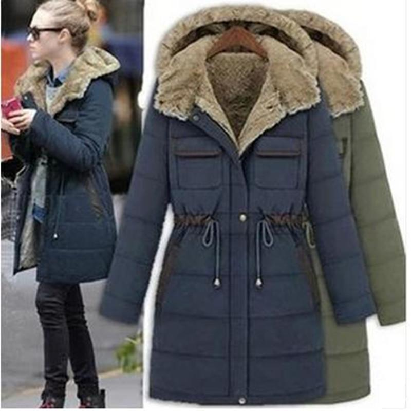 New Autumn Winter Women Coats Fashion Plus size casual slim hooded cotton thick parkas for women large size outware Freeshipping 2017 new women autumn winter thick warm hooded cotton coats