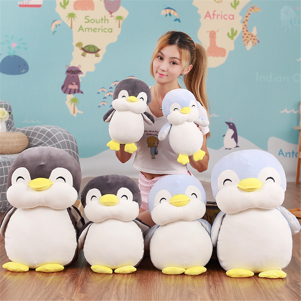 1pc 30cm Soft Penguin Plush Toys Stuffed Cartoon Animal Doll Baby Lovely Christmas Birthday Gift Fashion Toys for Children plush ocean creatures plush penguin doll cute stuffed sea simulative toys for soft baby kids birthdays gifts 32cm