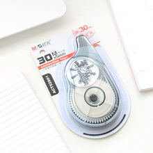 2PCS Large correction tape 30m x 5mm Press Type Decorative Correction Tape Diary Stationery School Supply