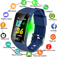 BANGWEI Sport Bracelet Waterproof Fitness Wristband Blood Pressure Heart Rate Monitor Pedometer Information Reminder Smart Watch недорого