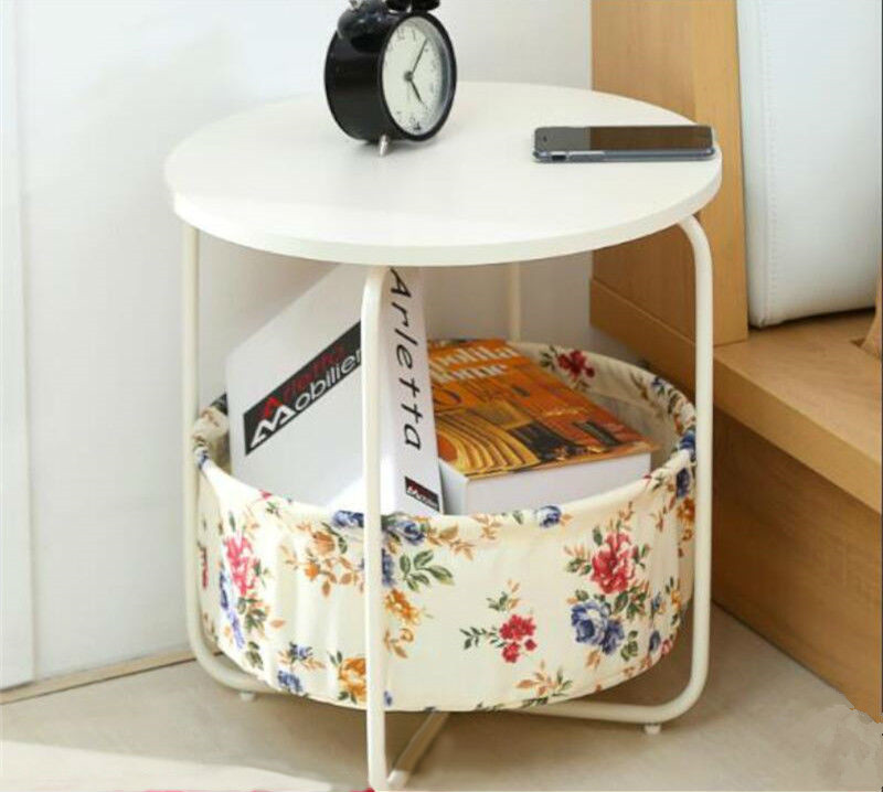 Simple Modern Bedside Table Nordic Small Cabinet Mini Storage Cabinet Corner Table
