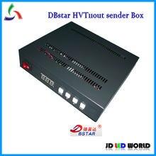 DBstar – boîte d'envoi HVT11OUT, boîtier externe DBS-HVT11out, commande LED synchrone polychrome