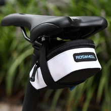 13*5(7)*7cm Portable Anti-slip Zip Bicycle Bike Saddle Back Seat Bag Outdoor Cycling Tail Saddle Bags Pouch Cycling Accessories