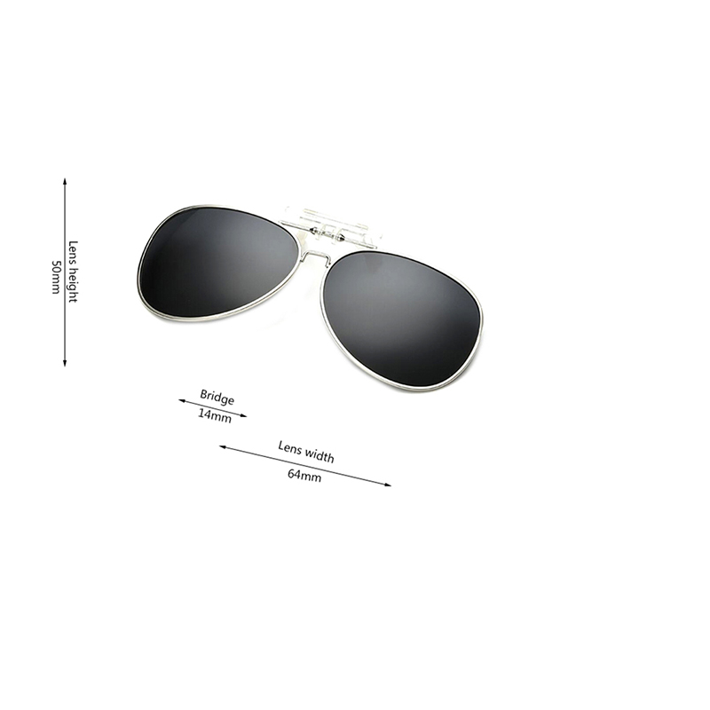 b62c080fbd1 GAMT Polarized Clip on Flip up Metal Mens Sunglasses Lenses Glasses  Unbreakable Driving Fishing Outdoor Sport HD Polaroid Glass-in Sunglasses  from Apparel ...