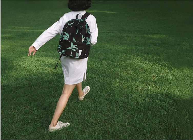 ФОТО xaoye Plant series fashion original detachable backpack
