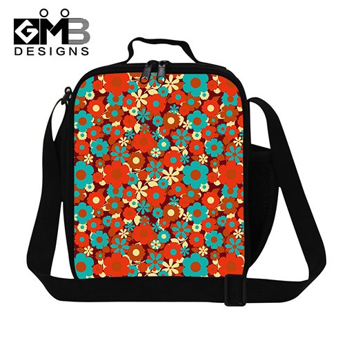 flower lunch bag
