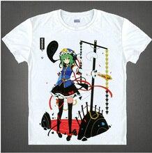 RTXBQU HOT Anime Touhou Project T shirt Casual Costume summer short sleeve men women t