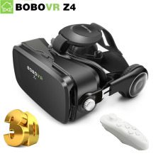 Orignal BOBOVR Z4 3D VR Glasses Virtual Reality Google Cardboard VR Headset bobo vr box z4 mini Headphone for 4-6 inch phone