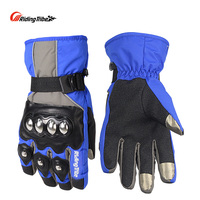 Riding Tribe Motorcross Motorcycle Gloves Winter Warm Durable Waterproof Touch Screen Hands Protecor Sports Racing Guantes HX-04