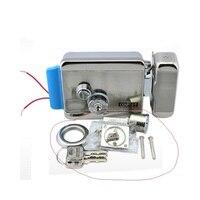 REE SHIPPING Brand New Video Intercom Electronic Door Lock For Access Control System Door Phone Doorbell