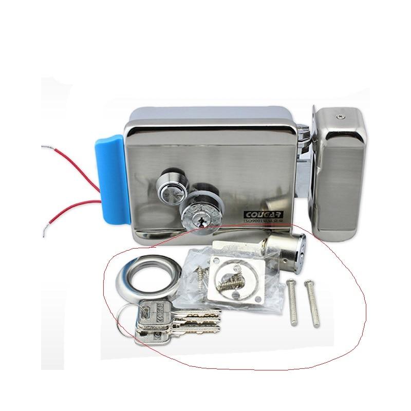 REE SHIPPING Brand New Video Intercom Electronic Door Lock For Access Control System Door Phone Doorbell Door Intercom in stock