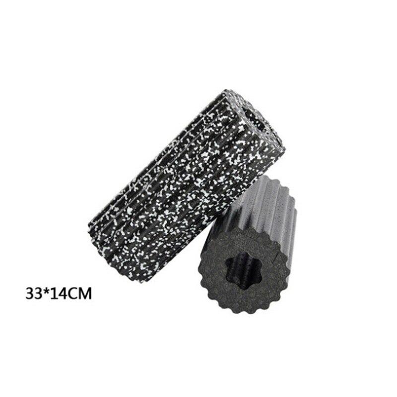 33*14cm Foam Roll Lightweight Round High Balance Shaft Roller Density Extra Firm Foam Ma ...