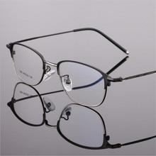 Fashion Glasses Frame Brand Designer Optical Eyeglasses Frames Men High Quality Prescription Eyewear Female Square type 606