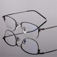 Occhiali di moda Cornice Del Progettista di Marca Occhiali Ottici Cornici Uomini di Alta Qualità Occhiali Da Vista Femminili tipo Quadrato 606