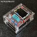 Caso de Shell para TFT GM328 Transistor Tester Diodo LCR medidor de ESR PWM de onda Cuadrada