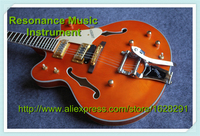 Chinese OEM Music Instruments Hollow Body Jazz Guitar G6122 Gretsch Electric Guitar In Stock For Sale