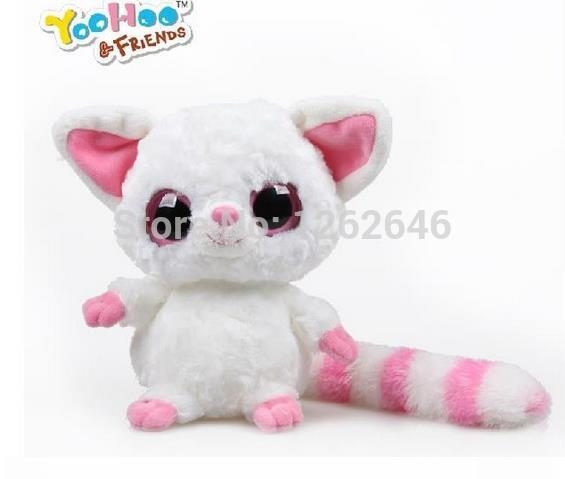 Yoohoo&Friends TY Big Eyes Cute Fabric Doll plush toy (fennec fox) - 5 Pammee,free shipping,doll plush toys,Gift for Chilren
