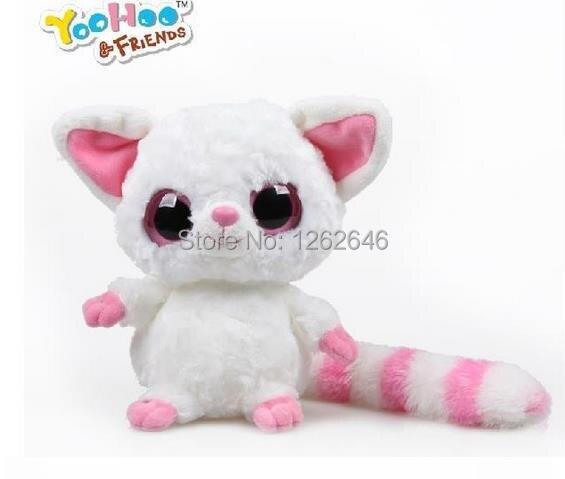 Yoohoo Friends Ty Big Eyes Cute Fabric Doll Plush Toy Fennec Fox 5