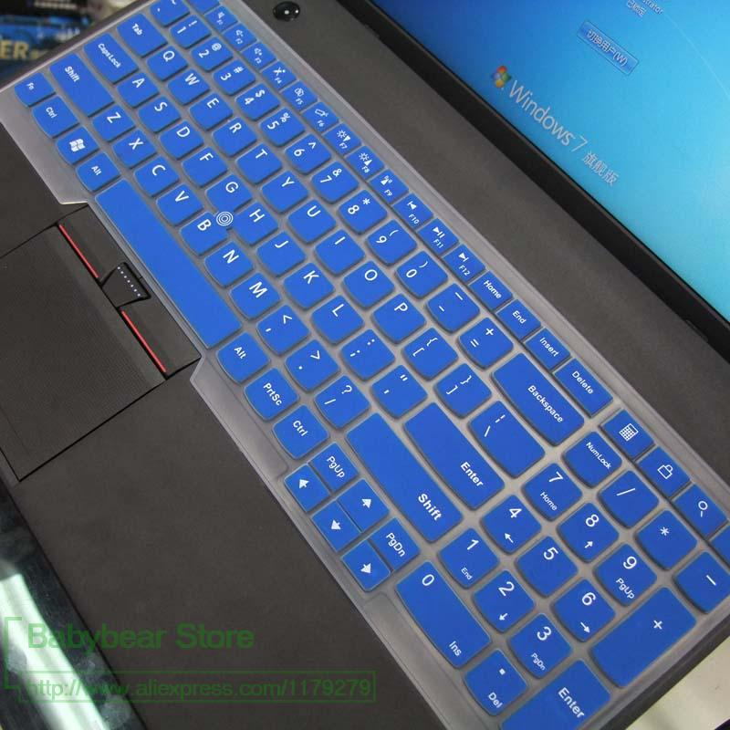 "Silicone teclado tampa da pele para o Lenovo Thinkpad P70 P71 17.3 "", 15.6"" Thinkpad P50 P50s E531 E540 E550 E555 E560 E565 E5"