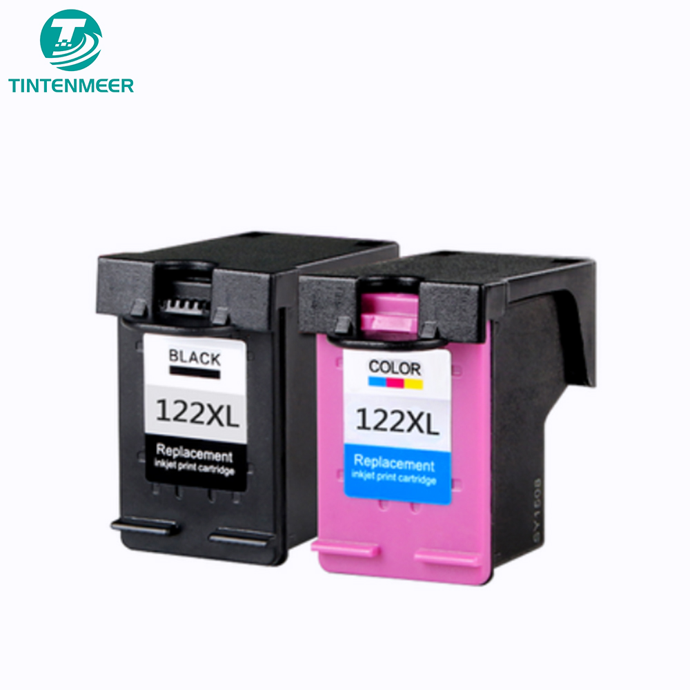 TINTENMEER ink cartridge <font><b>122</b></font> compatible for <font><b>hp</b></font> deskjet 1510 1050A 2050A 3050A 4500 5530 4630 4632 printer image