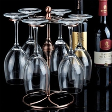 Champagne Stemware Holder Chrome Plated Wine Rack Glass Cup Kitchen Wall Bar Hanger Enclosed Stainless Steel Screw