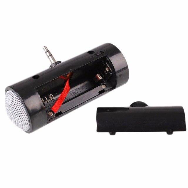 Jeebel Mini haut-parleur 3.5mm Jack pour téléphone intelligent MP4 tablette PC portable tablette Monaural haut-parleur musique amplificateur haut-parleur