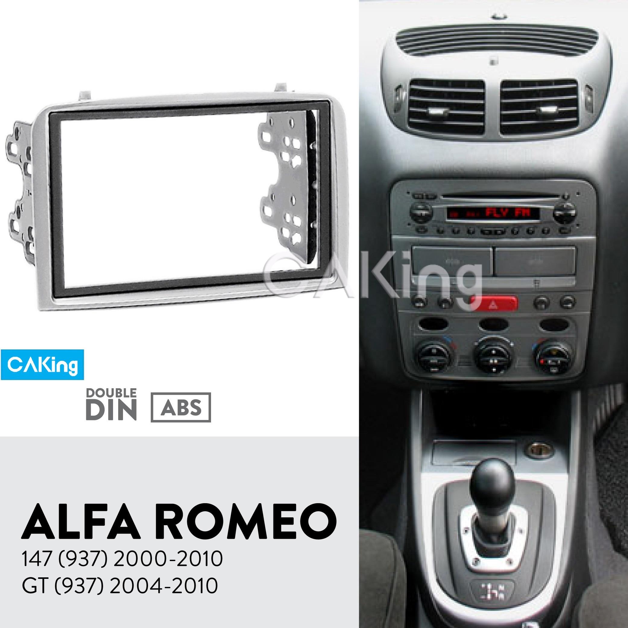 Car Fascia Radio Panel for ALFA ROMEO 147 937 2000 2010 GT 937 2004 2010 Dash