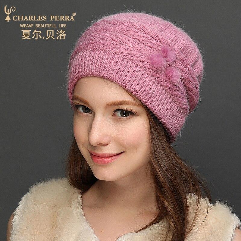 Charles Perra Sombreros de lana para mujer NUEVO Otoño Invierno - Accesorios para la ropa - foto 2