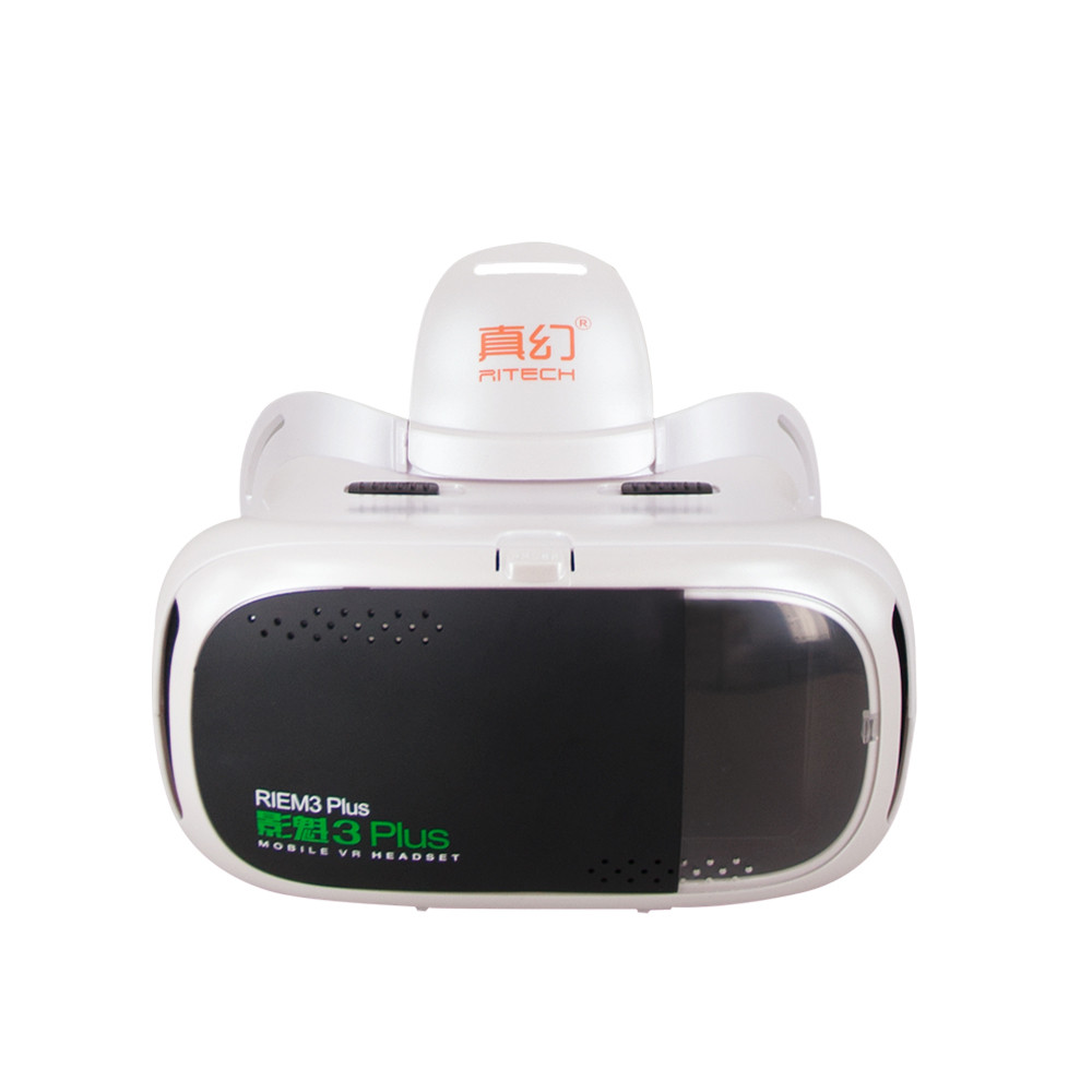 RITECH III Plus VR 360 Viewing Immersive Virtual Reality 3D Glasses FOV 75 Degree Google Cardboard Gear for 4.7- 6 inch Phone