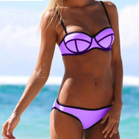SWIMLE 2017 New Bikini Suit Sexy Color Ball Style Swimsuit Split Bikini Women