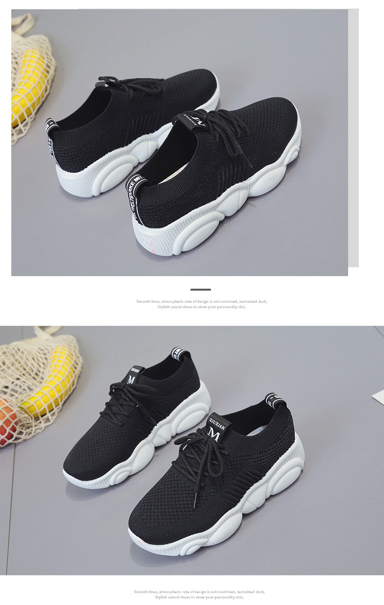 Breathable Women Casual Shoes Summer Lace Up White Platform Sneakers Fashion Soft Walking Flat Women Vulcanize Shoes New VT220 (10)