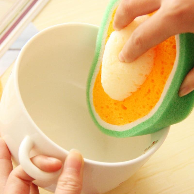 губка для посуды Фрукты на алиэкспресс
