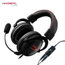 Kingston HyperX Cloud Core Игровая гарнитура Hi-Fi способны наушники и съемная шумоподавление микрофона и регулятор громкости