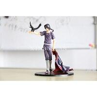 Naruto Action Japanese Anime Uchiha Itachi Write Round Eyes Figure Toys Juguete Bonecos PVC Model Brinquedos