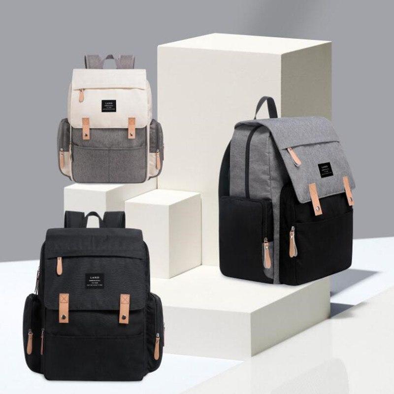 Diaper Nappy Bag Large Capacity Brand Baby Bag Travel Maternity Backpacks Waterproof Diaper Backpack for Mom