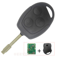 Alarm Replacement Remote Key 433Mhz 4D60 Chip Inside For Ford FOCUS Mendeo 3 4 2008